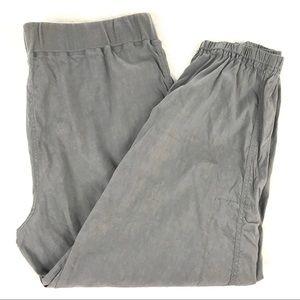 90e1187c2e56 Eileen Fisher Pants - Eileen Fisher Linen-Blend Cargo Ankle Pants Pewter